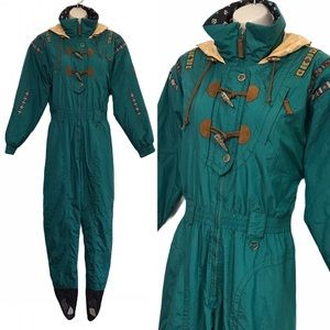 Vintage OBERMEYER Women's Ski Jumpsuit Size 10